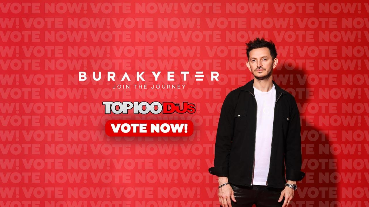 Vote for Burak Yeter at Top100 Djs